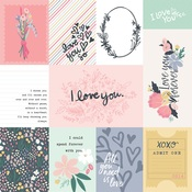 3X4 Journaling Cards Paper - You & Me - Echo Park