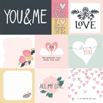 Multi Journaling Cards Paper - You & Me - Echo Park