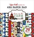 Down On The Farm 6 x 6 Paper Pad - Echo Park