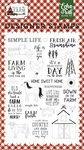 Down On The Farm Stamp Set - Echo Park