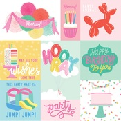 Journaling Cards Paper - Let's Party - Echo Park - PRE ORDER