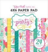 Let's Party 6 x 6 Paper Pad - Echo Park