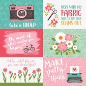 4X6 Journaling Cards Paper - I Heart Crafting - Echo Park - PRE ORDER