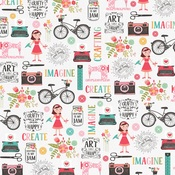 Create Beauty Paper - I Heart Crafting - Echo Park - PRE ORDER