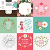 4X4 Journaling Cards Paper - I Heart Crafting - Echo Park