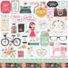 I Heart Crafting Element Sticker - Echo Park