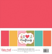 I Heart Crafting Solids Kit - Echo Park - PRE ORDER