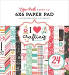 6x6 Paper Pad - I Heart Crafting - Echo Park