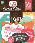 Frames & Tags - I Heart Crafting - Echo Park - PRE ORDER