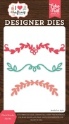 Floral Border Die Set - I Heart Crafting - Echo Park - PRE ORDER