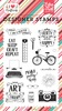 I am A Crafter Stamp - I Heart Crafting - Echo Park
