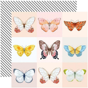 Butterfly Paper - Love Is In The Air - Websters Pages