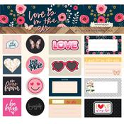 Love Is In The Air Ephemera Sticker Pack - Websters Pages