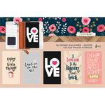 Love Quotes Travel Notebook Sticker Wallpaper - Websters Pages