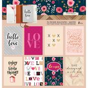 Love Quotes Pocket Travel Notebook Sticker Wallpaper - Websters Pages