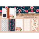 Love Backgrounds Travel Notebook Sticker Wallpaper - Websters Pages