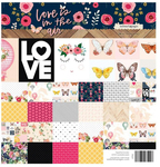 Love Is In The Air Double-Sided Cardstock Pad 8 x 8 - Websters Pages