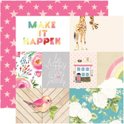 Make It Happen Paper - Changing Colors - Websters Pages