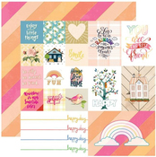Happy Day Paper - Changing Colors - Websters Pages