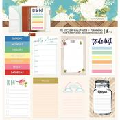 Colors Planning Pocket Travel Notebook Sticker Wallpaper - Websters Pages