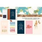 Colors Quotes Travel Notebook Sticker Wallpaper - Websters Pages