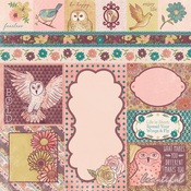 Beautiful Paper - Floral Spice - Bo Bunny