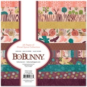 Floral Spice 6 x 6 Paper Pad - Bo Bunny