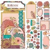 Floral Spice Ephemera Noteworthy - Bo Bunny -PRE ORDER