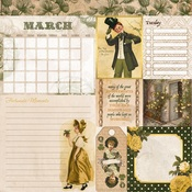 March Banner Year Paper - Bo Bunny
