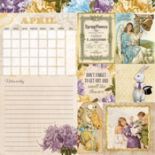 April Banner Year Paper - Bo Bunny