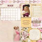 May Banner Year Paper - Bo Bunny