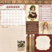 August Banner Year Paper - Bo Bunny - PRE ORDER