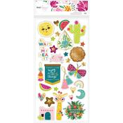 New Day Chipboard Stickers - Dear Lizzy
