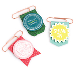 New Day Layered Paper Clips - Dear Lizzy