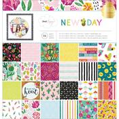 New Day 12 x 12 Paper Pad - Dear Lizzy