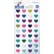 Mini Hearts Puffy Stickers - Head In The Clouds - Shimelle