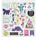 Head In The Clouds Chipboard Sticker Sheet - Shimelle