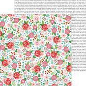 Bouquet Of Love Paper - Loves Me - Pebbles