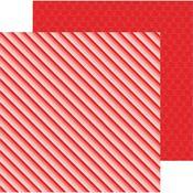 Ombre Stripe Paper - Loves Me - Pebbles