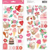 Loves Me Icon Stickers - Pebbles