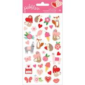 Loves Me Icons Stickers - Pebbles