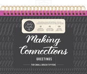 Connections/Greetings - Kelly Creates Small Brush Workbook