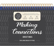 Connections/Greetings - Kelly Creates Large Brush Workbook