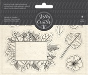 Tropical - Kelly Creates Acrylic Traceable Stamps