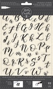 Bouncy Alphabet - Kelly Creates Acrylic Traceable Stamps