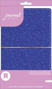 Blue Glitter - American Crafts Journal Studio Kit