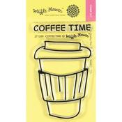 Coffee Time Clear Stamps - Waffle Flower