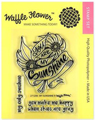 My Sunshine Waffle Flower Clear Stamps - PRE ORDER