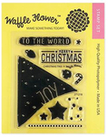 Christmas Tree Waffle Flower Clear Stamps - PRE ORDER