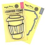 Coffee Time Waffle Flower Stamp & Die Set - PRE ORDER